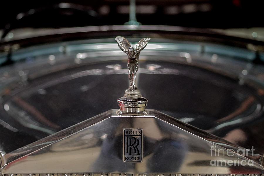 Rolls Royce Photograph By Mitch Shindelbower