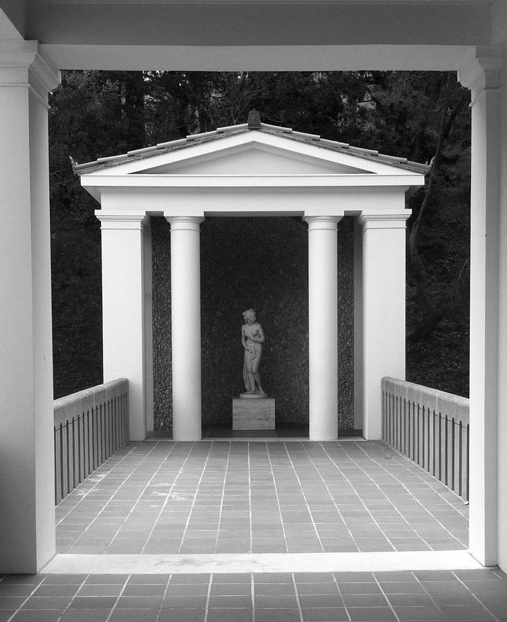 Roman Antiquities Photograph - Roman Shrine  by Paul Washington
