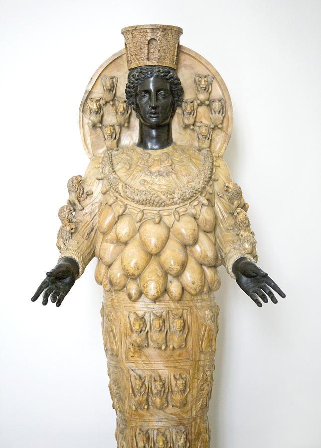 Artemis Photograph - Roman Statue Of Artemis by Sheila Terry