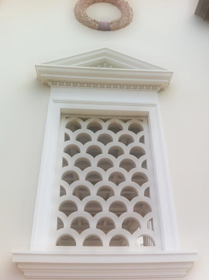 Roman Antiquities Photograph - Roman Window Villa by Paul Washington