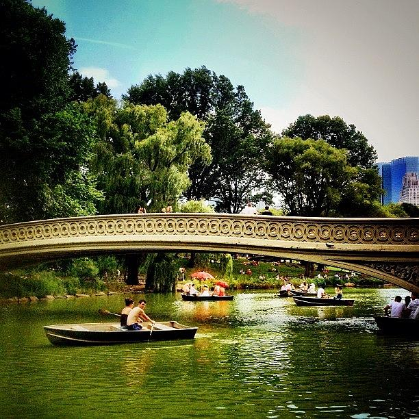 New York City Photograph - Romance - Central Park - New York City by Vivienne Gucwa