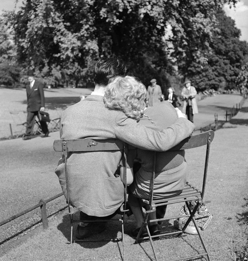 Adults Only Photograph - Romantic Couple by Haywood Magee