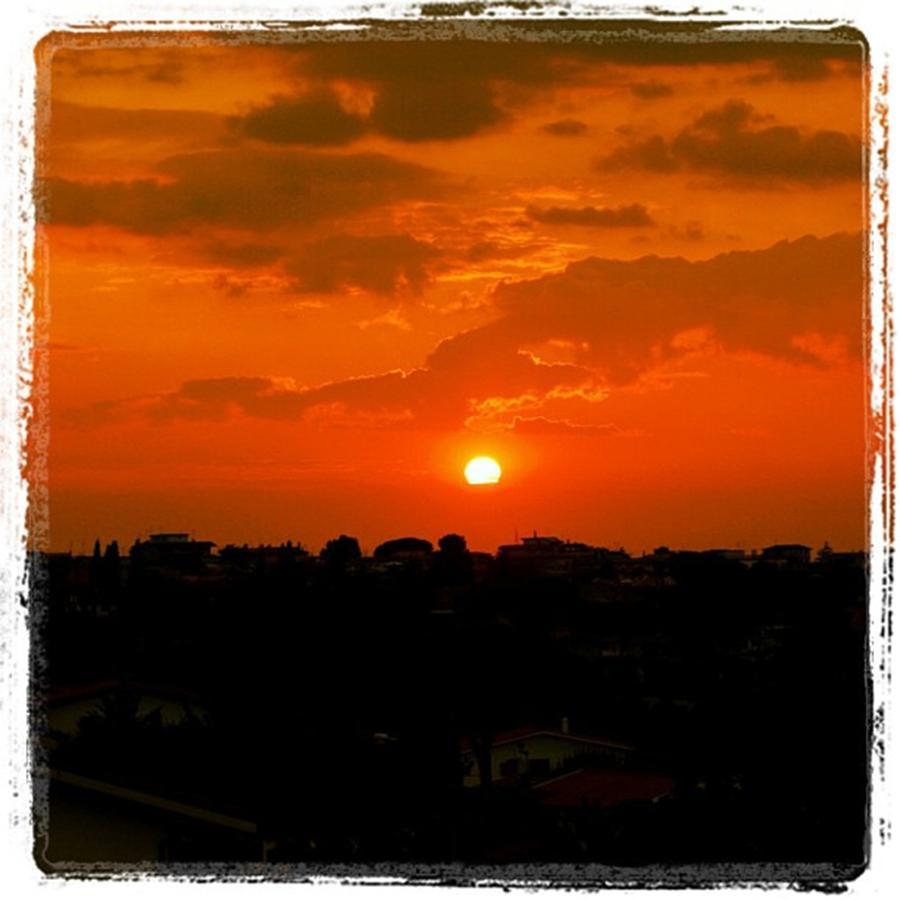 Sunset Photograph - Romes sunset by Luisa Azzolini