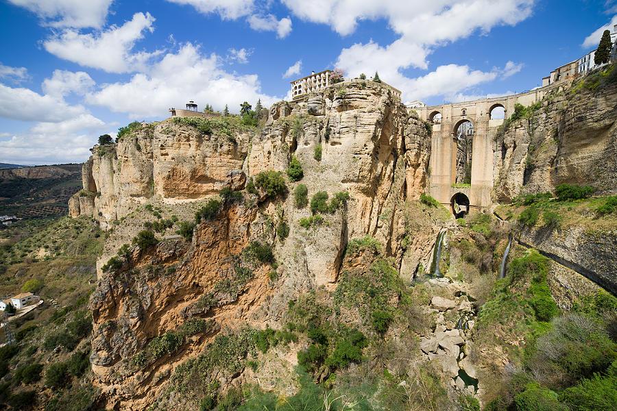 New Photograph - Ronda Rocks In Andalusia by Artur Bogacki