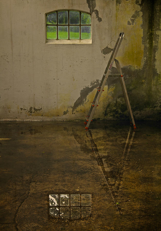 Room Photograph - Room For Reflection by Odd Jeppesen