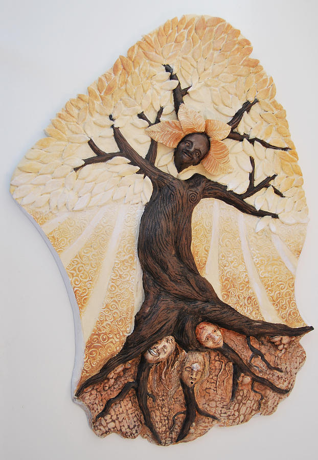 Mythic Relief - Rooted In Women by Janet Knocke