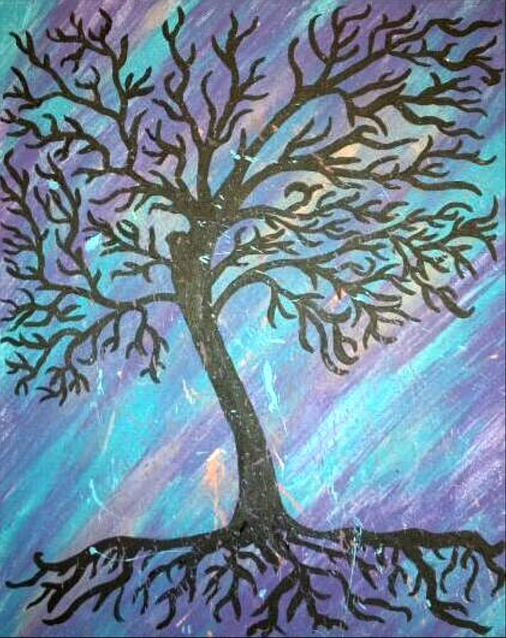 Roots To A New Beginning Painting by Alisha Harrison