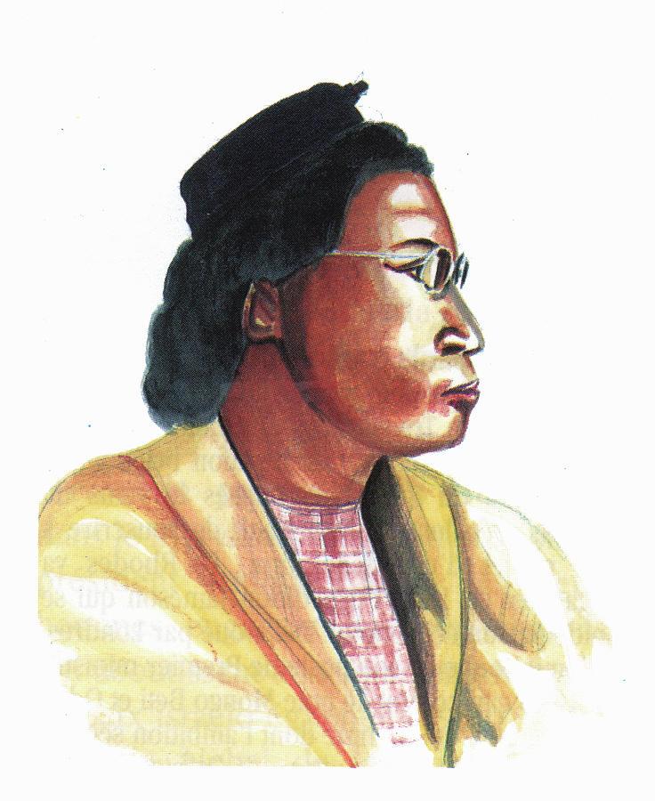 Portraits Painting - Rosa Parks by Emmanuel Baliyanga