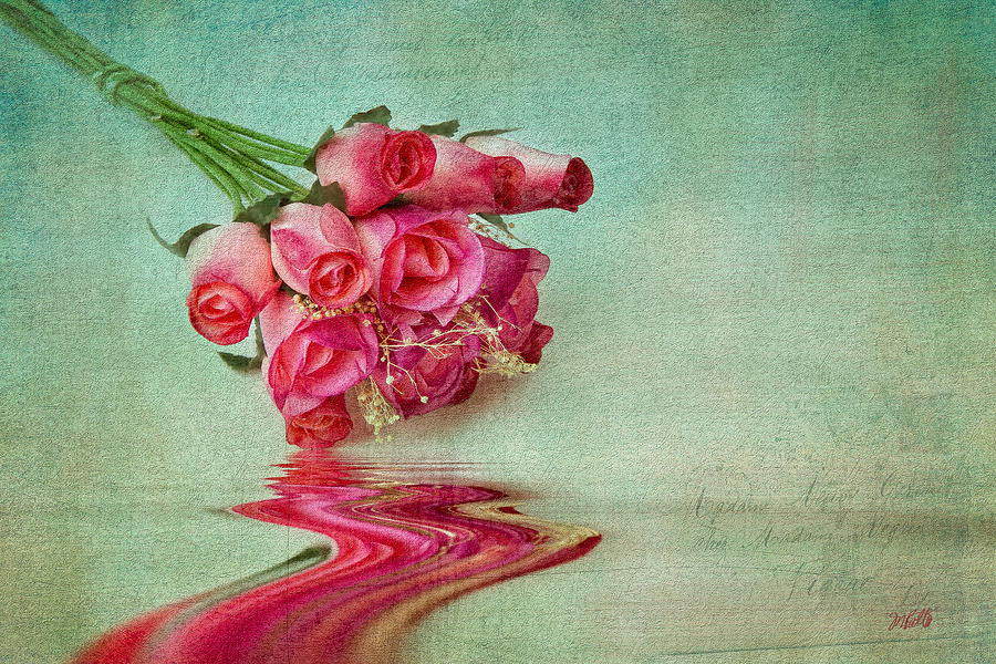 Flowers Mixed Media - Roses by Michael Petrizzo
