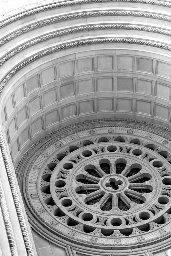 Washington Dc Basilica Photograph - Rosetta Washington Dc Basilica by Pablo  De Loy
