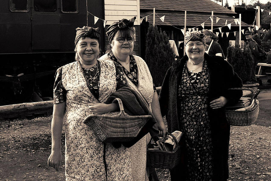 Great Moment Photograph - Rosies At War Weekend Pickering  by Patjila Visser