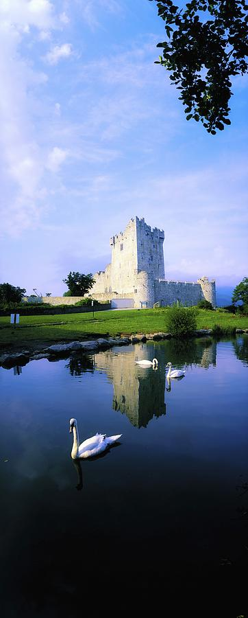 Architecture Photograph - Ross Castle, Lough Leane, Killarney by The Irish Image Collection