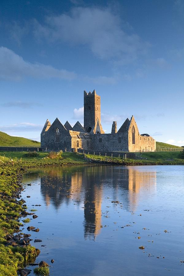 Day Photograph - Rosserk Friary, Co Mayo, Ireland 15th by Gareth McCormack