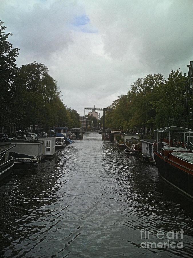 Rotterdam Photograph - Rotterdam Canal by Jennifer Sabir