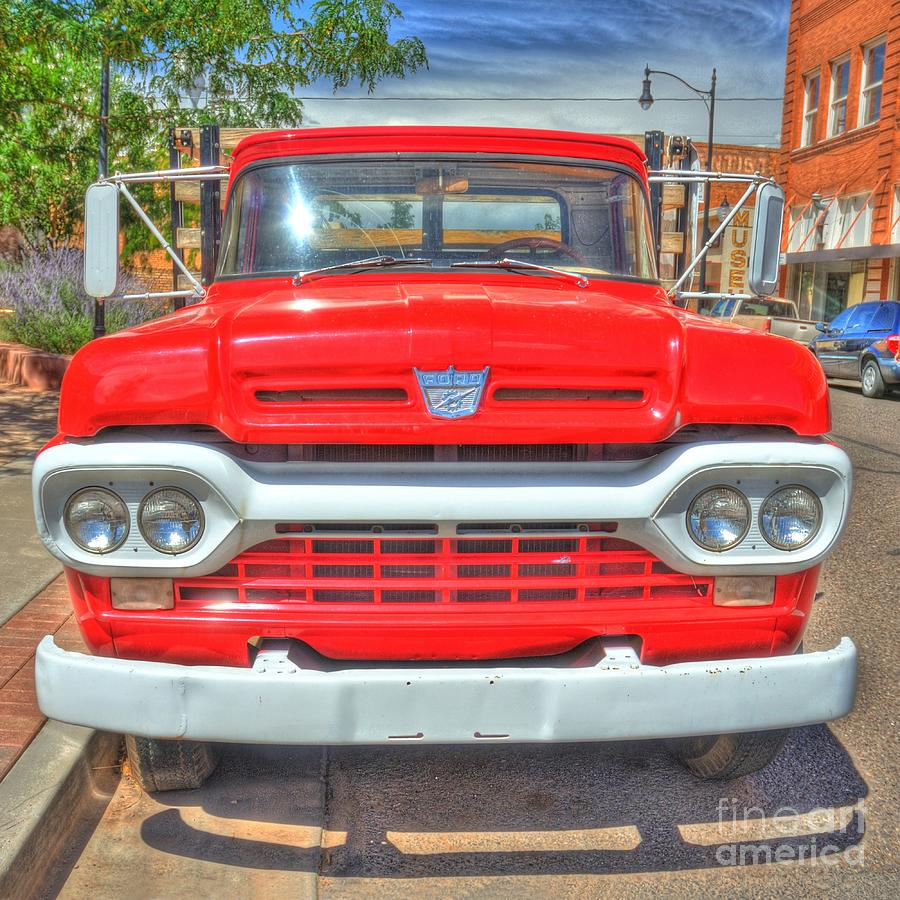 Route 66 Photograph - Route 66 Flatbed Ford by John Kelly