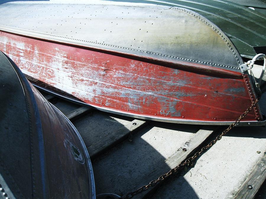 Row Boats Photograph - Row Baots by Todd Sherlock