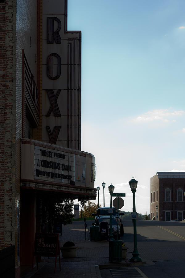 Clarksville Photograph - Roxy Regional Theater by Ed Gleichman