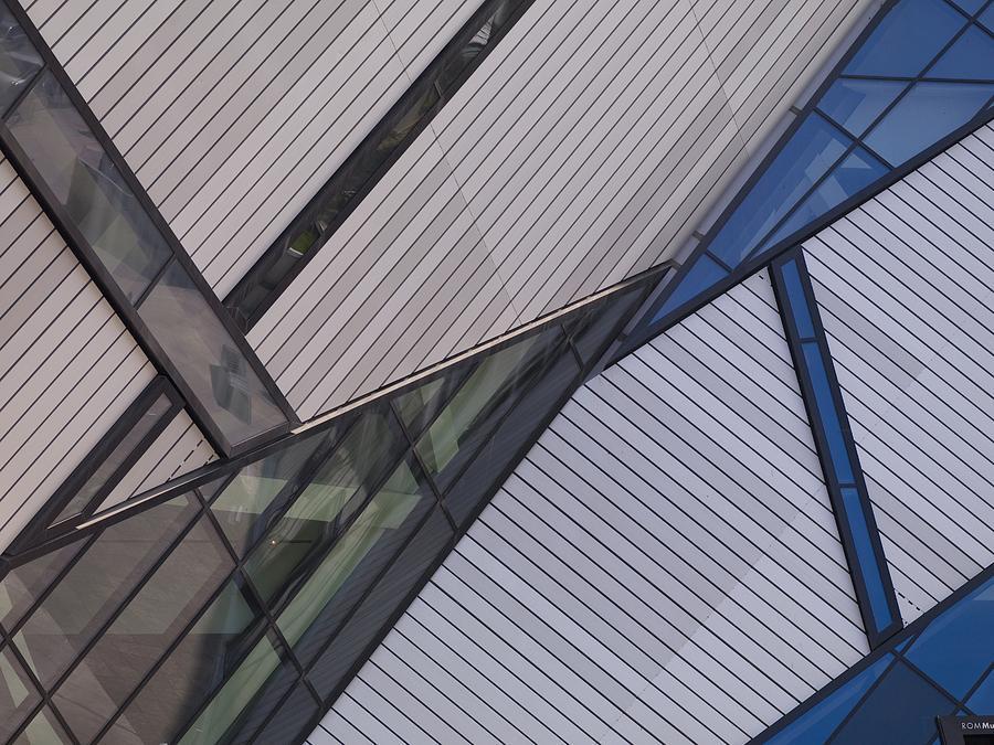 Abstract Design Photograph - Royal Ontario Museum, Toronto, Ontario by Keith Levit