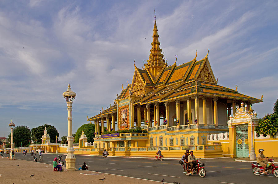 Asia Photograph - Royal Palace by David Freuthal