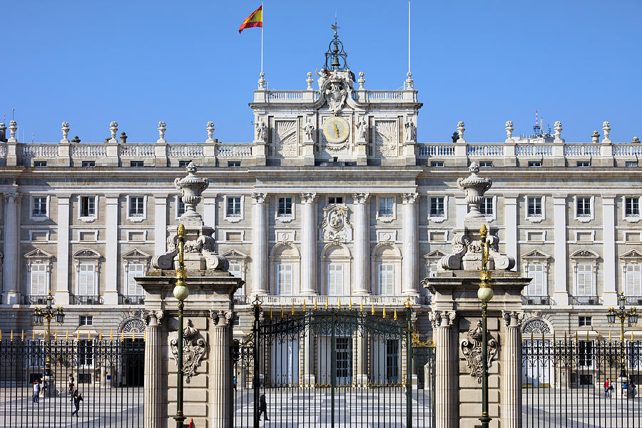 Madrid Photograph - Royal Palace In Madrid by Artur Bogacki