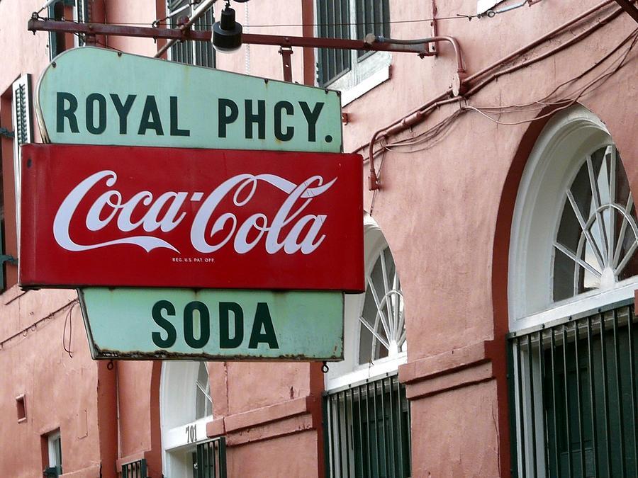 New Orleans Photograph - Royal Pharmacy by Rdr Creative