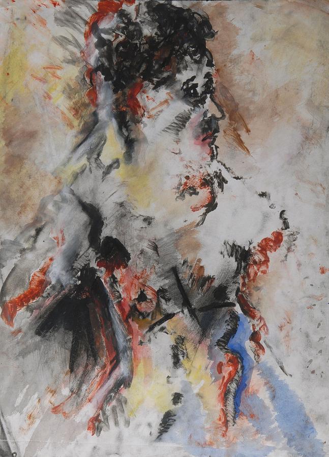 Fine Art Mixed Media - Royalty by Iris Gill