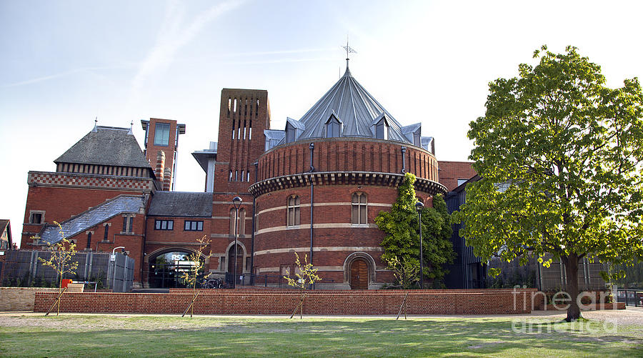 Rsc Photograph - Rst And Swan Theatre by Jane Rix