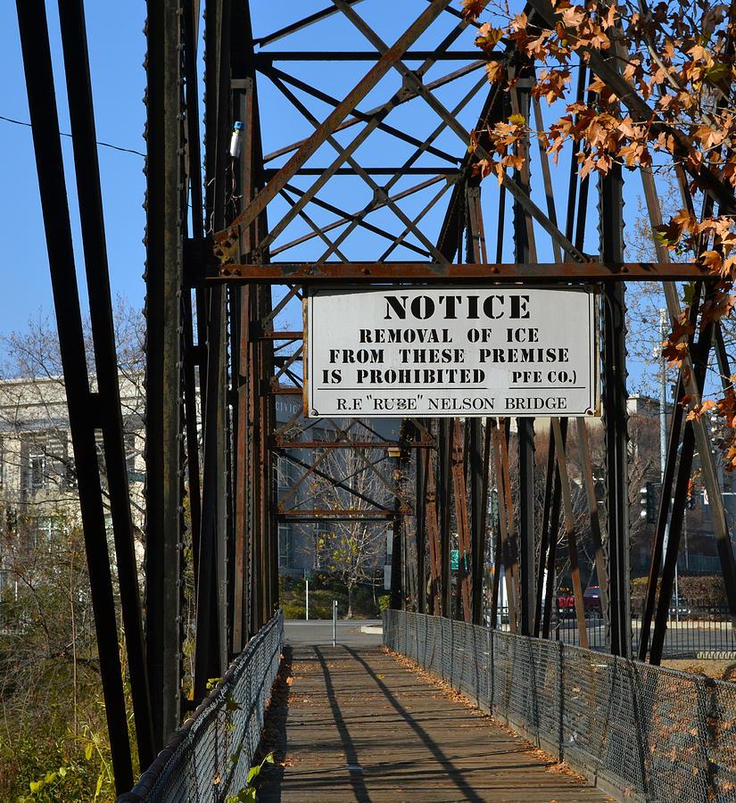 Bridge Photograph - Rube Nelson Bridge 2 by Bill Owen