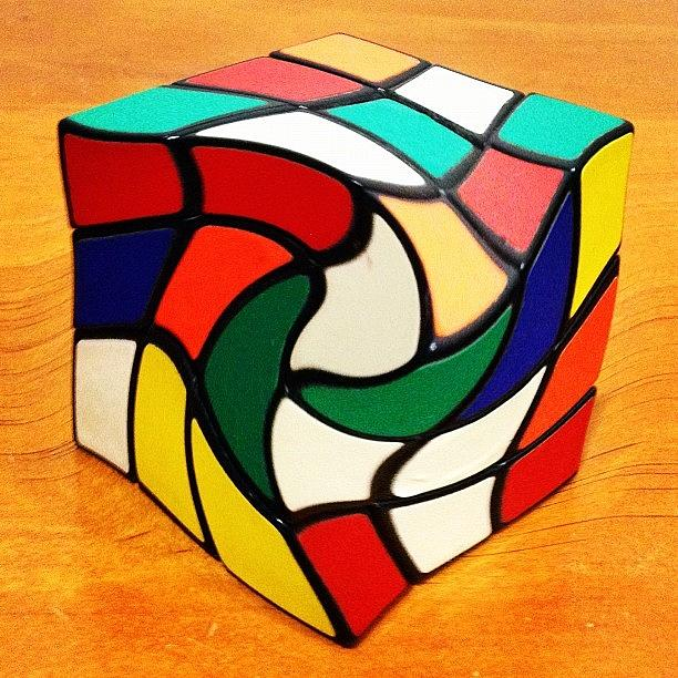 Cube Photograph - Rubiks Revenge by Cameron Bentley