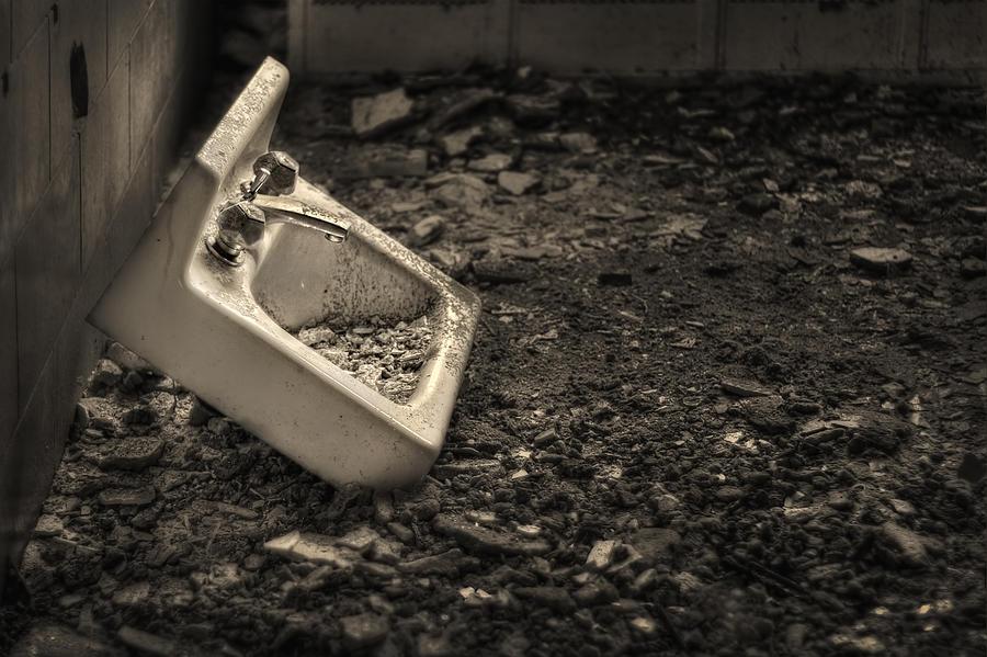 Abandoned Photograph - Rude Awakening by Evelina Kremsdorf