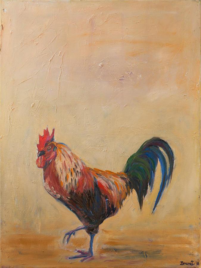 Sophie Brunet Painting - Rude Awakening by Sophie Brunet