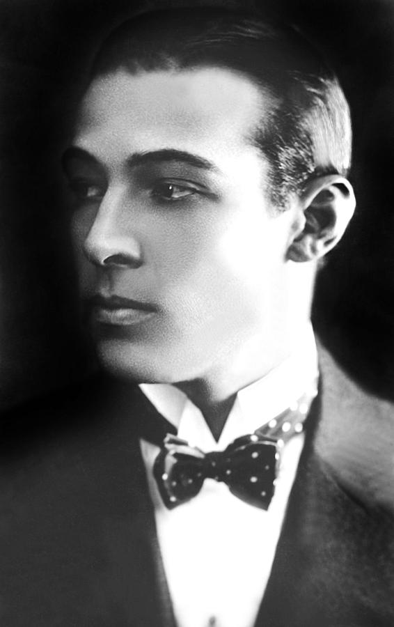 1920s Portraits Photograph - Rudolph Valentino, Ca 1921 by Everett
