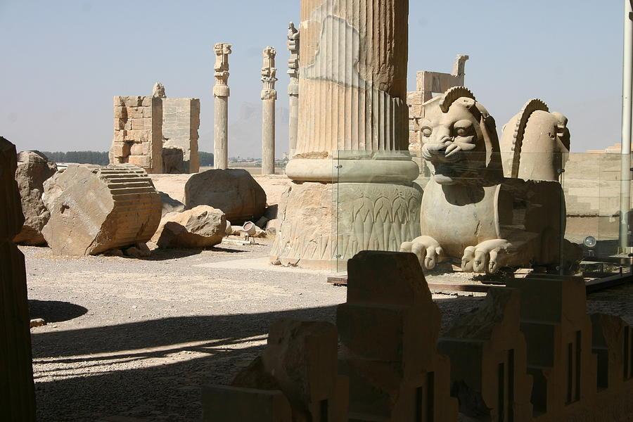 Iran Photograph - Ruins by Tia Anderson-Esguerra