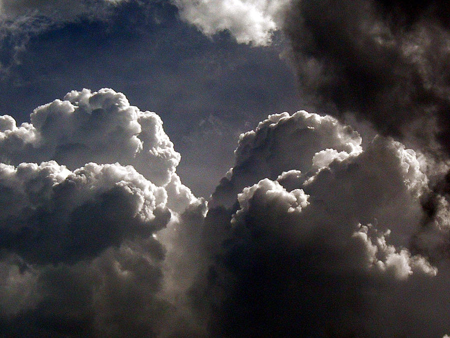 Clouds Photograph - Rumble by Skip Willits