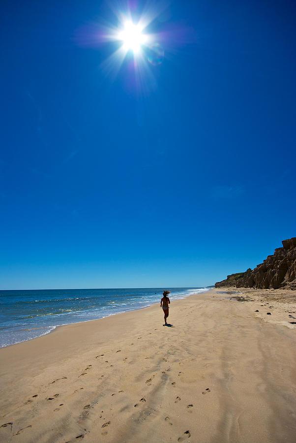 Beach Photograph - Run On The Beach by Mike Horvath