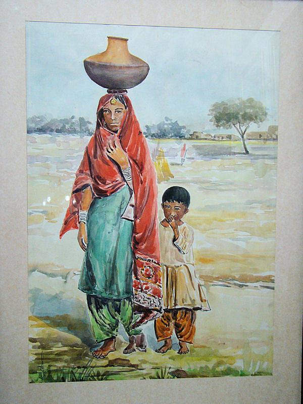 Artist Paintings Of Pregnant Womem