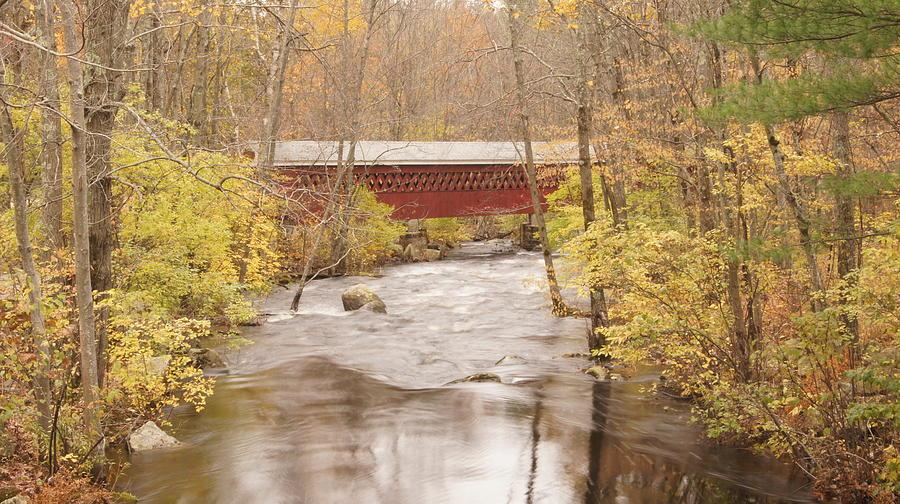 River Photograph - Rural Bridge by Tristan Bosworth