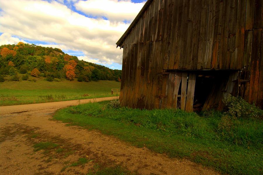Barn Photograph - Rural Fixer-upper by Susan Camden