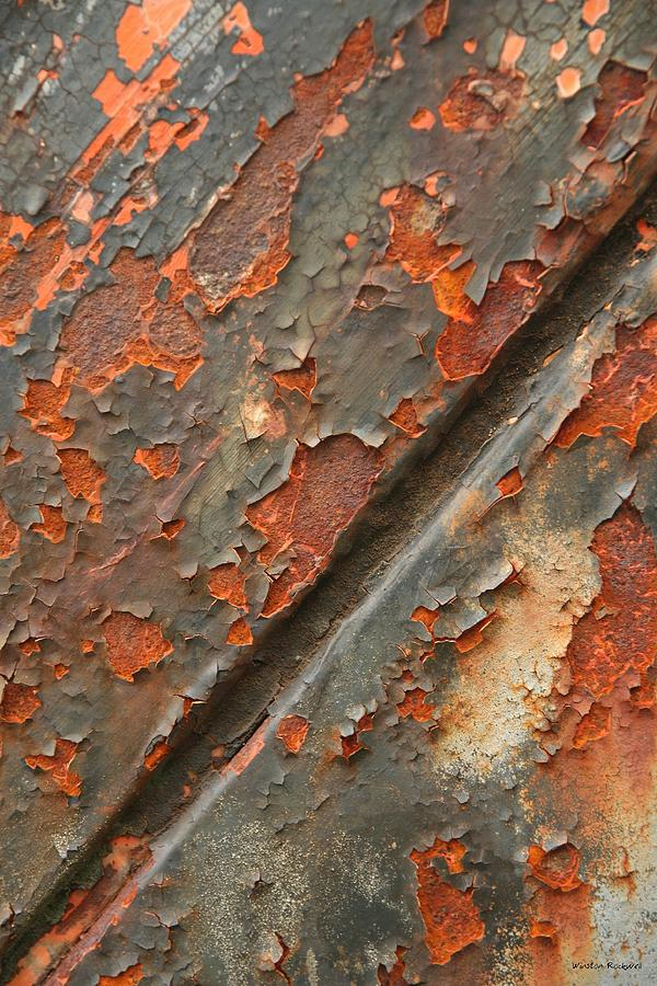 Rust Photograph - Rust IIi by Winston Rockwell