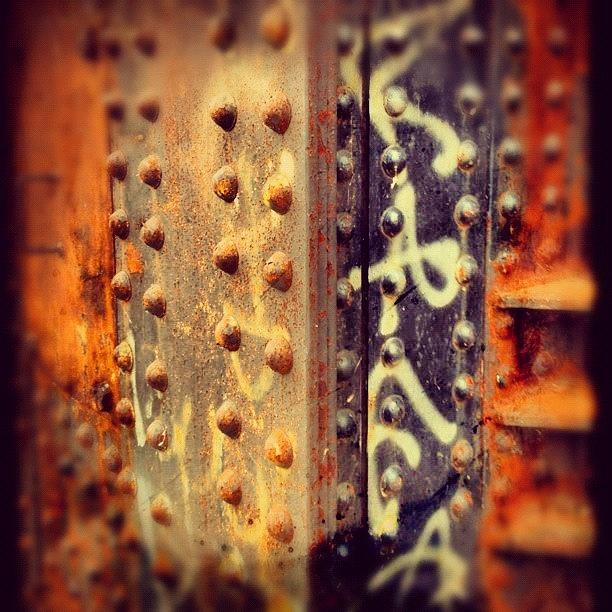 Industrial Photograph - Rust by Isabel Poulin