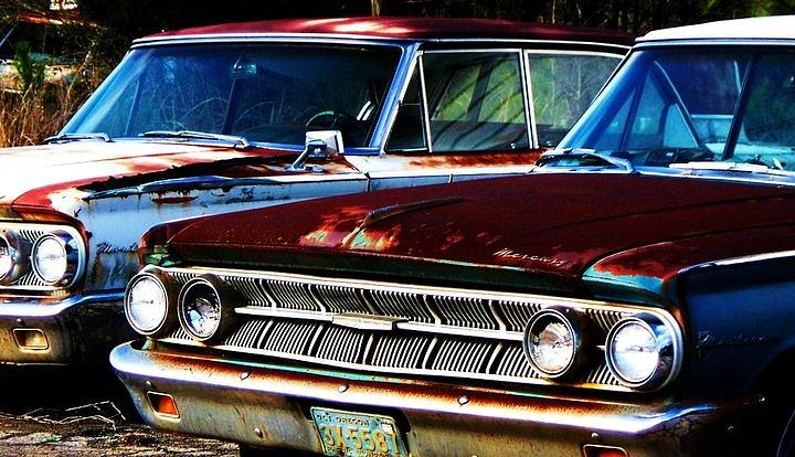 Cars Photograph - Rusted by Beverly Hammond