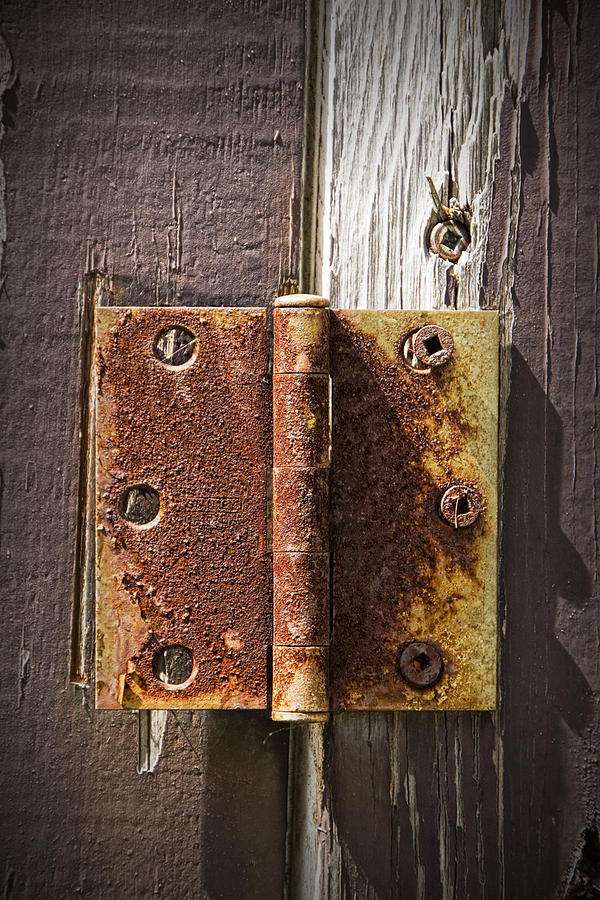 Rusty Door rusted door hinge no.447 photographrandall nyhof