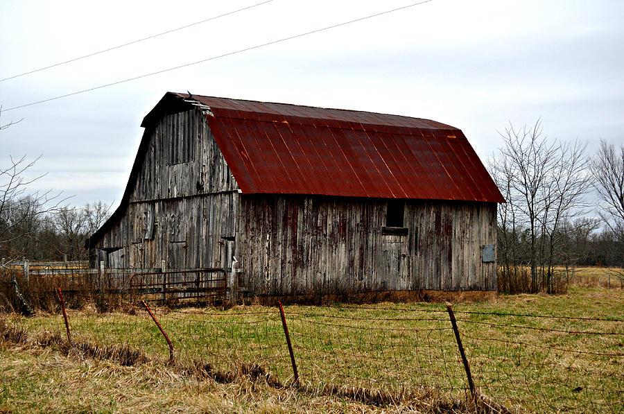 Barn Photograph - Rustic Barn 2 by Marty Koch