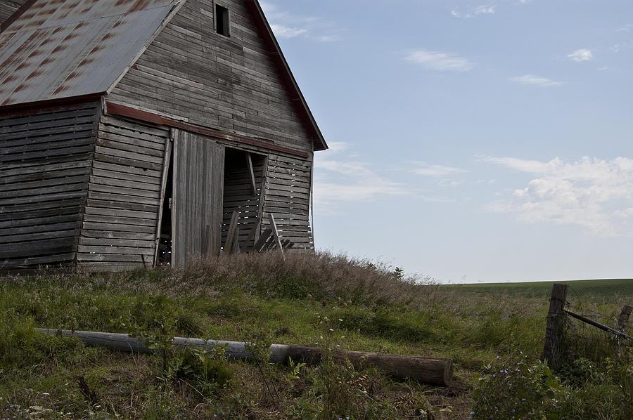Barn Photograph - Rustic Barn Still Standing by Wilma  Birdwell