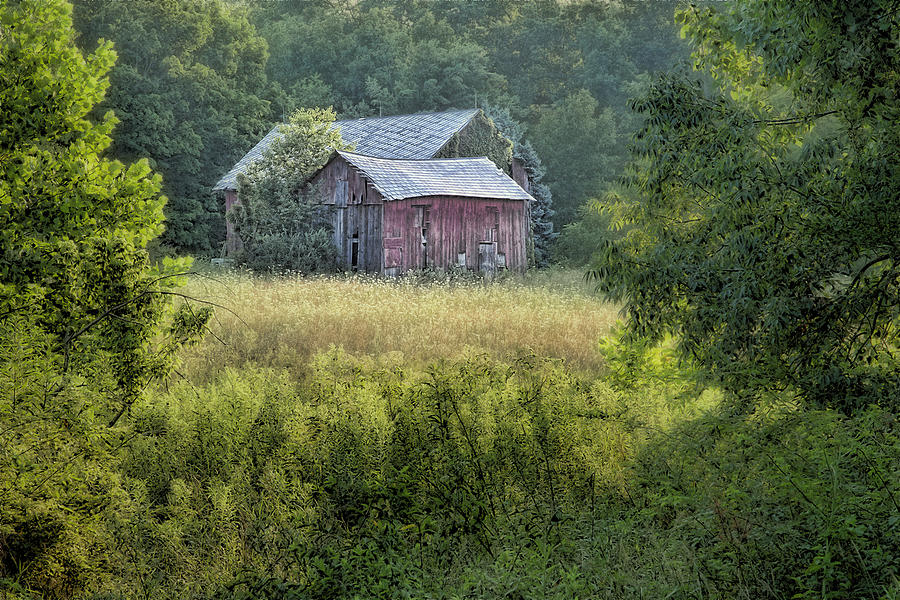 Architecture Photograph - Rustic Barn by Tom Mc Nemar