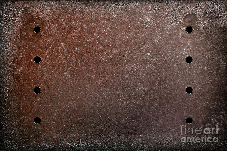 Abandoned Photograph - Rusty Iron by Carlos Caetano