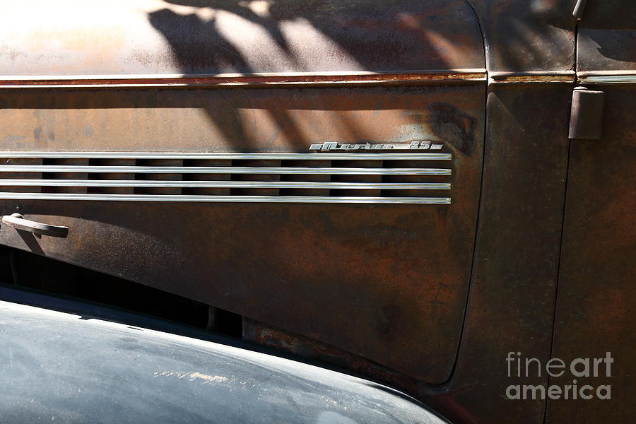 1939 Photograph - Rusty Old 1939 Chevrolet Master 85 . 5d16199 by Wingsdomain Art and Photography