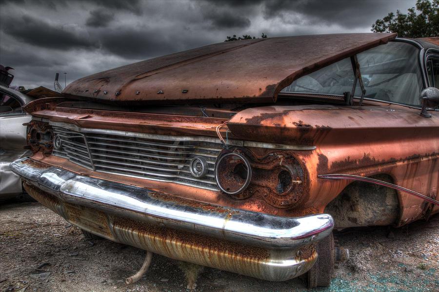 Rusty Pontiac Photograph