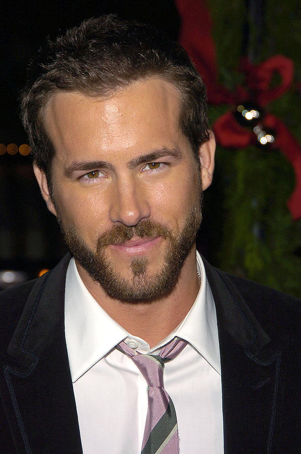 Arrivals Photograph - Ryan Reynolds At Arrivals For Just by Everett