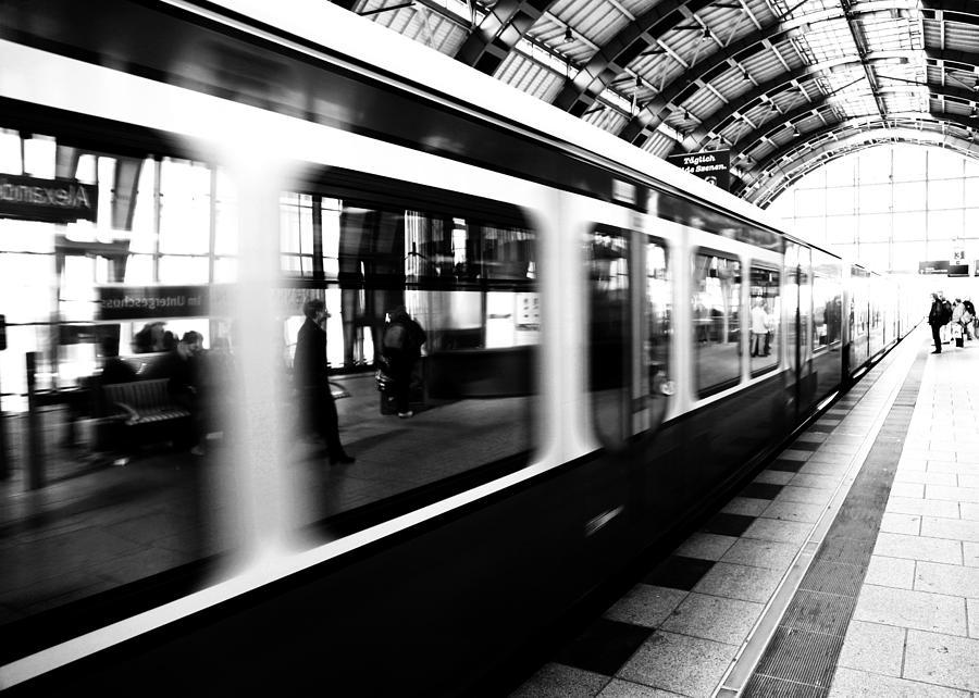 Bahn Photograph - S-bahn Berlin by Falko Follert
